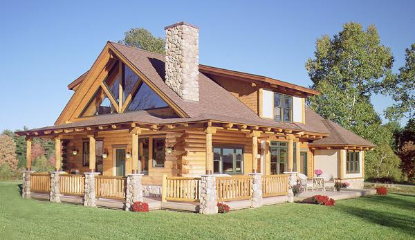 Lookout mountain log homes builders llc home for Home builders in north alabama