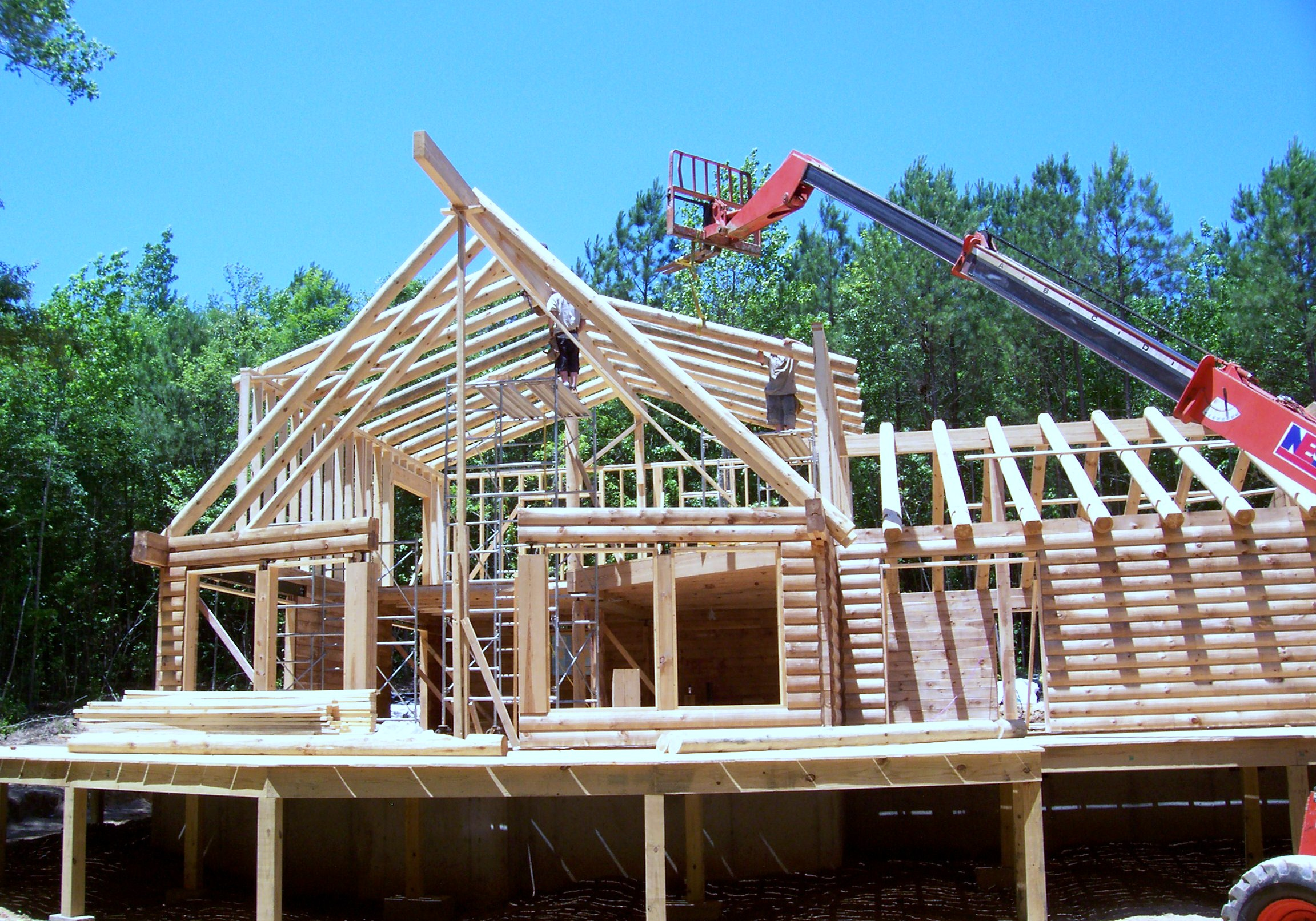 Lookout mountain log homes builders llc services for House builders in alabama